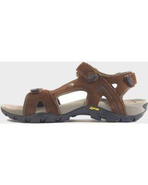 North Ridge Men's Trekker Walking Sandal - Brown/Sandal, Brown/SANDAL