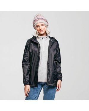 Peter Storm Women's Packable Hooded Jacket - Black, Black