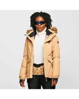 Protest Women's Amanda Snow Jacket - Cream/Crm, Cream/CRM