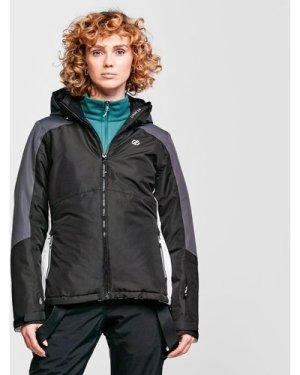Dare 2B Women's Radiate Ski Jacket - Black/Black, Black/BLACK