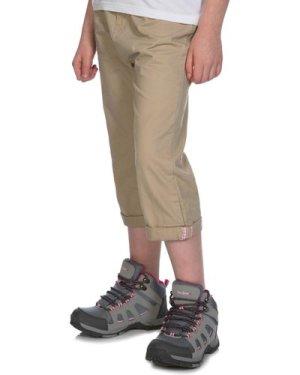 Peter Storm Kids' Capri Trousers - Tan/Tan, TAN/TAN