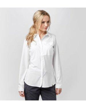 Brasher Women's Travel Shirt - White/Wht, White/WHT