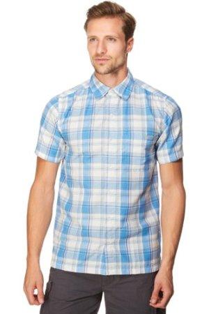 Regatta Men's Brennen Short Sleeve Shirt - Mbl/Mbl, MBL/MBL