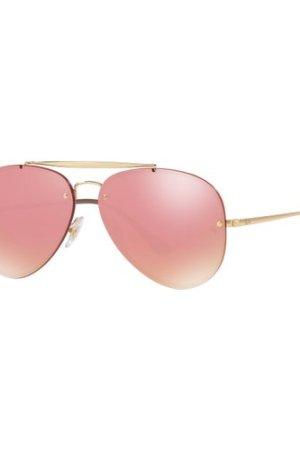 Ray-Ban Blaze Aviator RB3584N 9052/E4 Gold/Pink Mirror