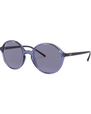 Ray-Ban RB4304 643580 Trasparent Violet/Blue