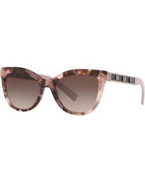 Valentino VA4049 506713 Havana Pink/Gradient Brown