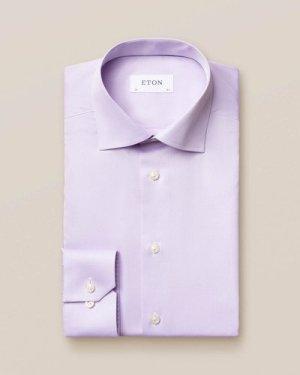 Light Purple Signature Twill Shirt