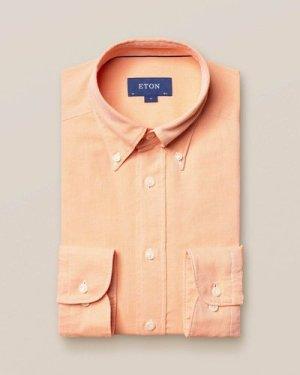 Orange oxford shirt - soft