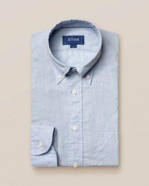 Light Blue Lightweight Flannel Shirt
