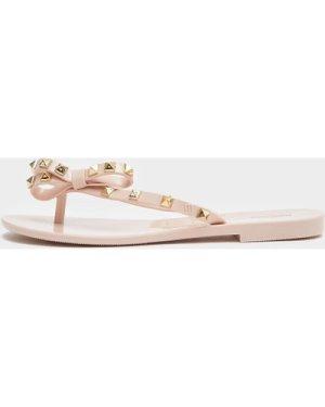Women's Melissa Harmonic Stud Flip Flops Pink, Pink