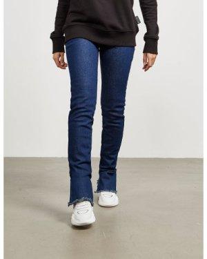 Women's Versace Jeans Couture Zip Slim Jeans Blue, Blue