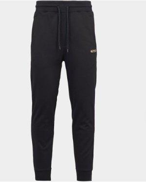 Men's HUGO Dibex Central Logo Track Pants Black, Black
