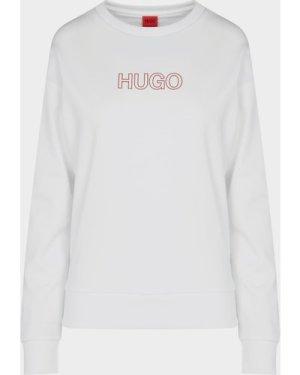 Women's HUGO Logo T-Shirt White, White