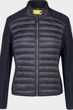 Women's Parajumpers Olivia Knit Sleeve Jacket Black, Black