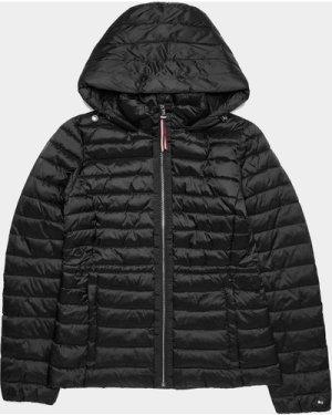 Women's Tommy Hilfiger Jade Quilted Short Jacket Black, Black