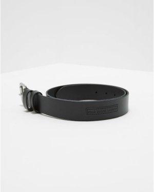 Men's Polo Ralph Lauren Leather Belt Black, Black