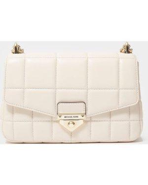Women's Michael Kors Soho Chain Shoulder Bag White, Cream