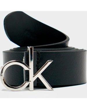 Women's Calvin Klein Jeans Logo Belt Black, Black