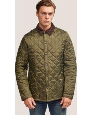 Men's Barbour Heritage Liddesdale Padded Jacket Green, Green