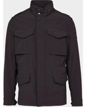 Men's Belstaff Fieldwood Jacket Black, Black