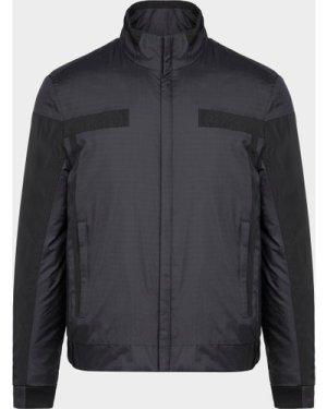 Men's BOSS Jrupa Golf Jacket Black, Black