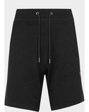 Men's Tommy Hilfiger Essential Side Embroidered Logo Shorts Black, Black