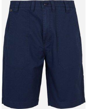 Men's Barbour International Patch Pocket Shorts Blue, Navy