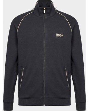 Men's BOSS Track Top Multi, Black/Gold