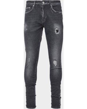 Men's Represent R&R Skinny Jeans Grey, Grey
