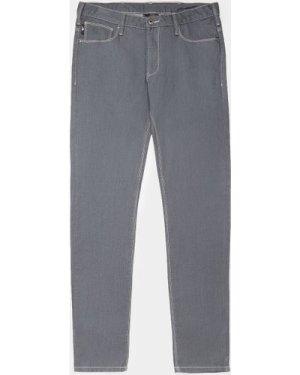 Men's Emporio Armani J06 Slim Jeans Grey, Grey