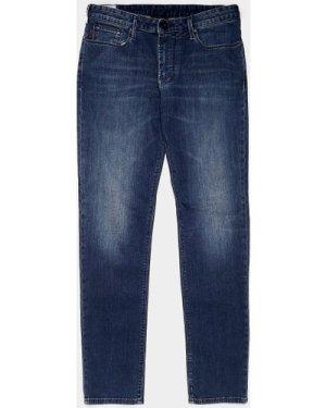 Men's Emporio Armani J06 Slim Jeans Blue, Blue