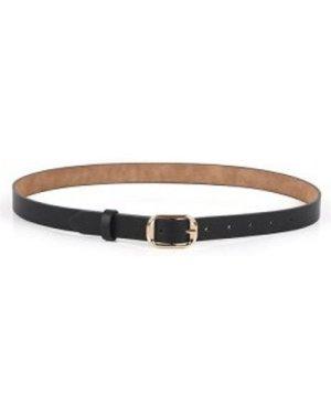 Sleek Rectangle Shape Buckle Belt