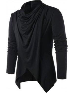 Convertible Asymmetrical Cardigan
