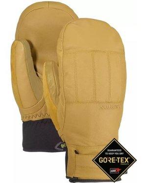 Burton Gore-Tex Gondy Leather Mittens raw hide
