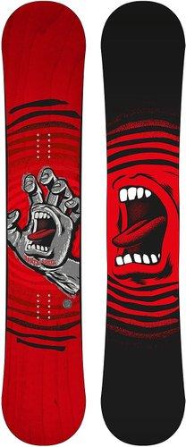 Santa Cruz Snowboards Off Hand 154 2021 Snowboard red