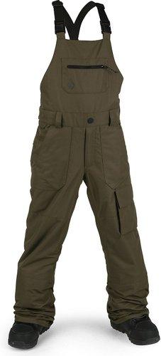 Volcom Barkley Bib Pants black military