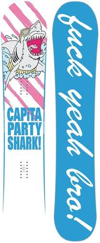 CAPiTA Party Shark 158 2021 Snowboard multi