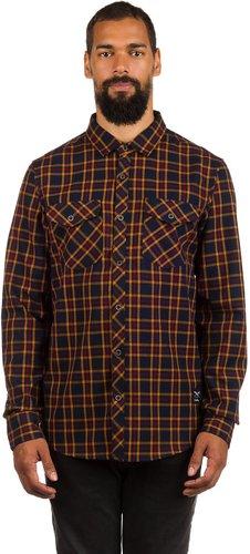 Iriedaily Old Fella Shirt navy yellow