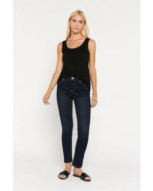Womens Slim Leg Jean - dark wash, Dark Wash