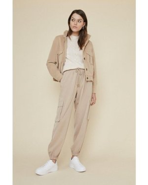 Womens Relaxed Soft Twill Trouser - camel, Camel