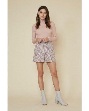 Womens Multi Tweed Short, Multi