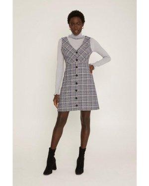 Womens Tweed Shift Dress - multi, Multi