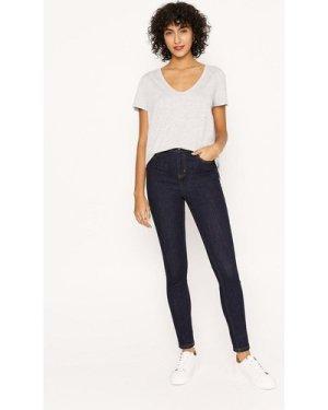 Womens 5 Pocket Stretch Jean - indigo, Indigo