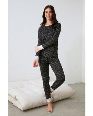Trendyol Little Mistress x Trendyol Love Print Pyjamas size: M, colour