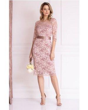 Alie Street London Lila Lace Dress size: 14-16 UK, colour: Pink