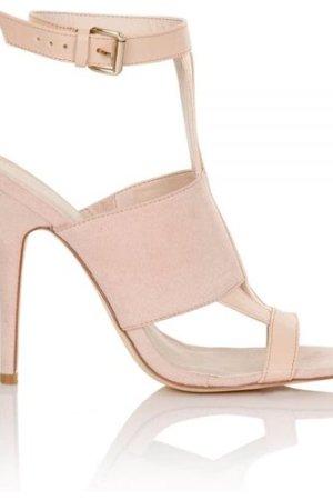 Paper Dolls Footwear Prilla Nude Multi Strap Heels size: Footwear 7 UK