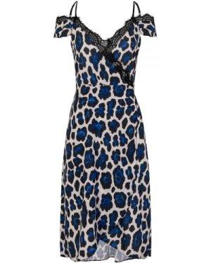Lace Leopard Dress size: 8 UK, colour: Print