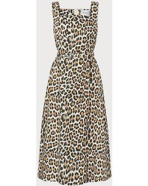 Giovanna Leopard Print Sun Dress, Multi