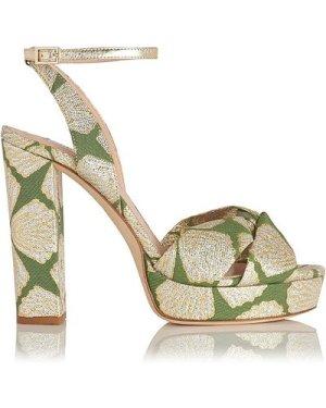 Annabella Green Sandals, Light Green