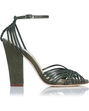 Lilybelle Khaki Sandals, Khaki